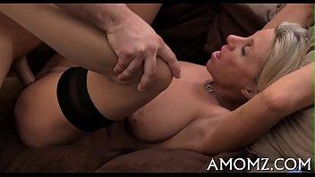 Hot blonde milf creampie from sexprofiles.org