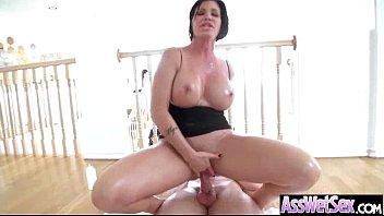 (shay fox) big ass oiled wet girl love anal sex vid-26
