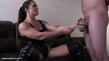 sex casting dom ballbusting