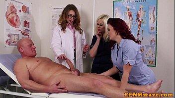 Femdom CFNM doctor sucking patients bigcock | Video Make Love