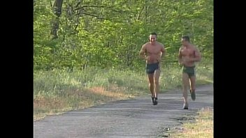 Poreno Gay Hungarian boys fuck after a jog