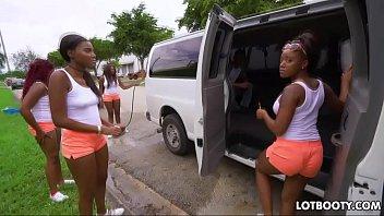 Two ebony fat booty church girls yara skye and jaime fetti