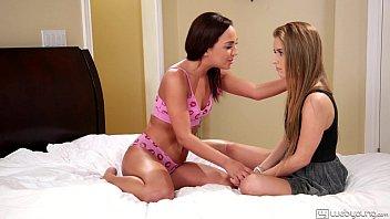My stepsis licks my big labia! - amara romani, lilly ford - webyoung