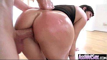 Anal deep sex with big butt oiled slut nasty girl (shay fox) mov-27