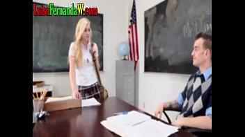 Me hacen el anal mas rico de mi vida en el colegio rubia teen mona caliente profesor cogiendo