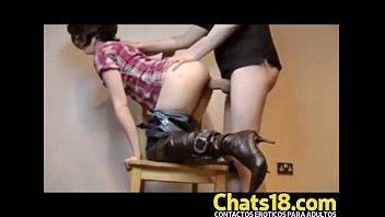 Perrita a cuatro patas recibe verga de wey mama... | Video Make Love