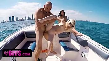 BFFS - Wild Spring Break Teens Fuck on Boat | Video Make Love