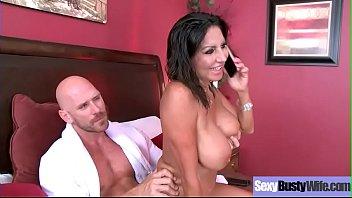 Hardcore Sex On Cam With Busty Sluty Wife (Tara Holiday) video-27