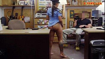 Teste de fudelidade com a Policial no Sexo Real
