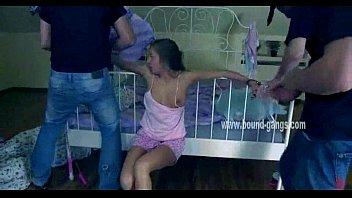 Very cute teen gets tied up | Video Make Love