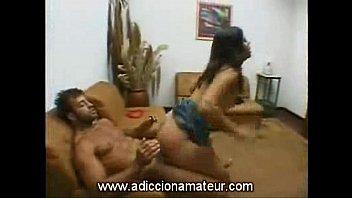Brasileña de 19 años en casting anal - adiccion...