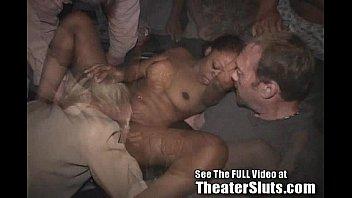 Public cum fest in tampa with theater slut kim
