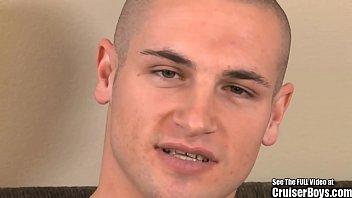 21yr old jock raymond jacks his uncut dick