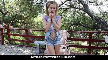 MyBabySittersClub - Petite Baby Sitter Caught M... | Video Make Love