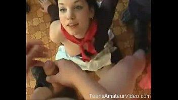 Подросток Джина - модель Гарри Красный - нахрен сцена #4