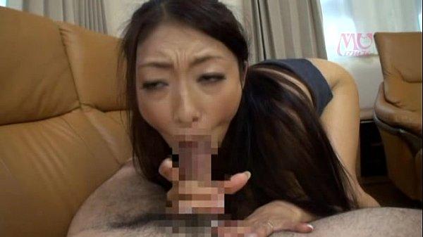 黒髪ロングの淫乱美巨乳美女小早川玲子の激しすぎるフェラ&69がエロすぎ!