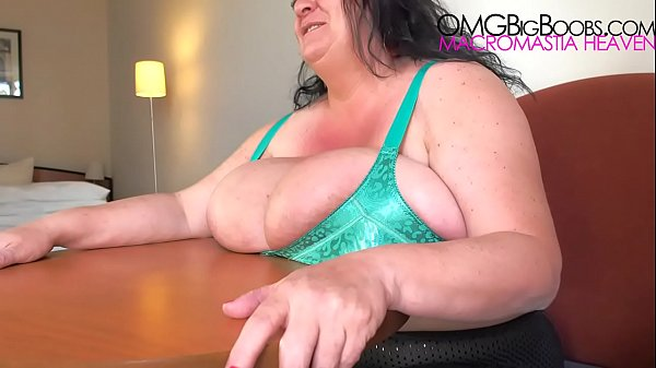 BBW huge natural breasts compilation