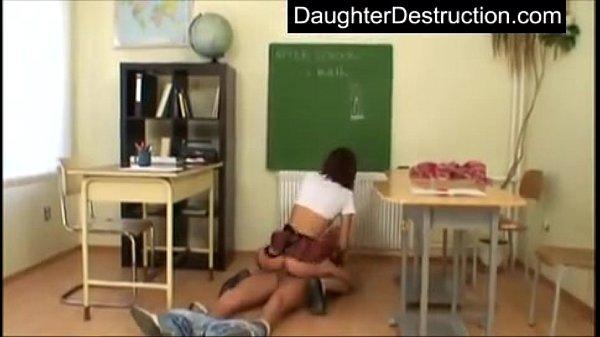 Cute teen hatefucked in her young innocent p...