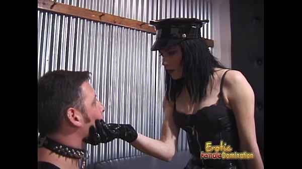 Two ravishing babes enjoy spanking a latex