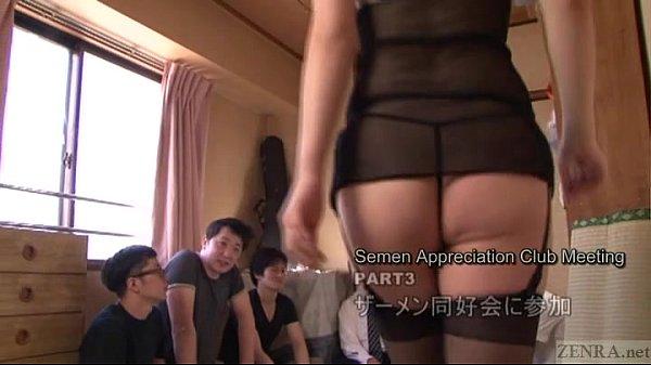 【加藤ツバキ】ザーメン絞り取り。ごっくんパーティー 5min