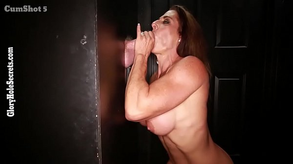Buff babe gets lots of cum protein