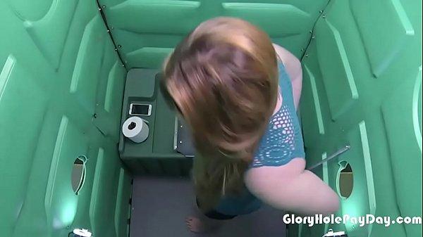 porta potty hardcore porn