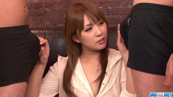 Phim sex Rinka Aiuchi nữ thư ký dâm đãng phục vụ các sếp từ A đến Z