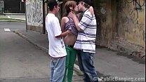 Street sex teen threeso...