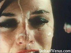 Vintage French POV Porn - Double Blowjob & Fuck