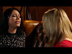Amazing Lesbian Asses on Adriana Chechik and Mi...