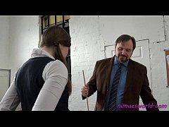 Pandora Blakes detention house schoolgirl spanking