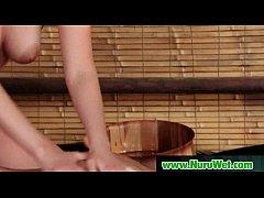 Nuru massage Sex with Busty Japanese Babe 03