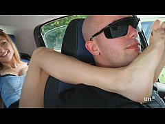 Brat Car- Italian Girl Foot Smothering Man
