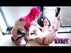 Neko Kitty Cosplay lesbians