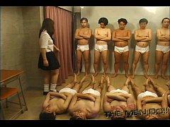 Bukkake Highschool Lesson 4 3/4 Japanese uncens...