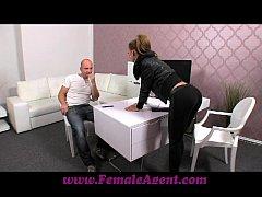 FemaleAgent Casting creampie for teasing agent