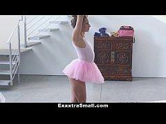 ExxxtraSmall - Tiny Ballerina Fucks Her Instruc...