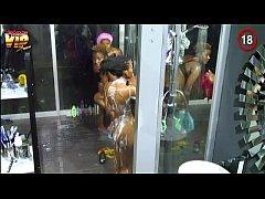 Big Brother Africa Hotshots Shower Hour - Goits...
