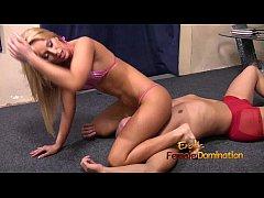 Aleska Diamond in bikini attacks her servants b...