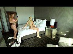 Jenna Ashley and Addison Avery POV Lesbian Fun