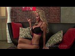 Pornstar Nikki Benz Fucks Hottie Jazzy!