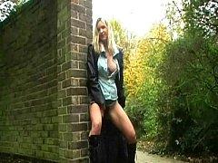 Emma Louise Peeing In Public