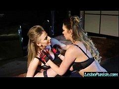 Lesbians (danielle&lexi) Use Sex Toys In Punish...