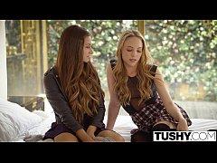 TUSHY Babes Cassidy Klein and Aubrey Star Do Anal
