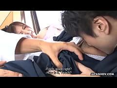 Dojo teacher taking advantage of his ripe Asian...