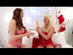 Britney Amber Christmas Lesbians