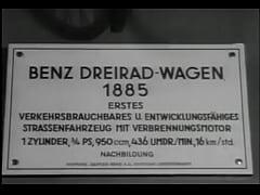 First Petrol Powered Car -- Benz Patent Motorwagen
