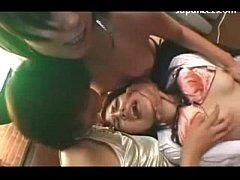 3 Girls Filming How Fingering Licking Fucking P...