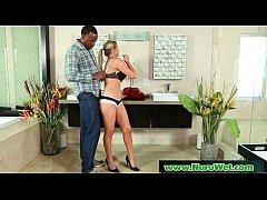 Nuru Massage Sex Video With Busty Asian Masseus...