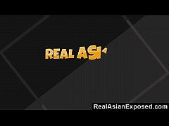 RealAsianExposed - Asian Cutie Keeani Lei Gags ...